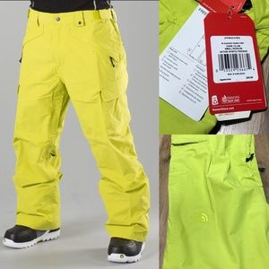 NWT North Face Slasher Cargo Snow Pants Size Small